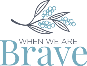When we are Brave Logo